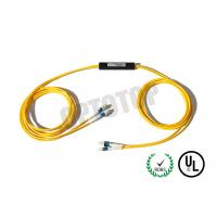 China OM 3 2 x 2 Fibre Optic Cable Splitter 2 mm For Telecom / Networks , ROHS Listed on sale