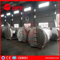 DYE Stainless Steel Milk Transportation Tank Direct Expansion Refrigeration Manufactures