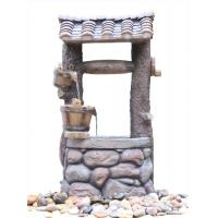 Customized Design Outdoor Tiered Water Fountains In Chinese Well Shape  Manufactures