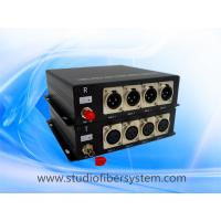 Buy cheap 4CH AES EBU audio to fiber converters with XLR interface for digital audio over from wholesalers