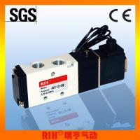 Buy cheap 2/5 way lead wire inner guide type pneumatic Solenoid Valves 1/8''4V110-06 from wholesalers