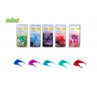 Quality Double Dolphin Plastic Air Freshener Four Scents Hanging In Carfor Rear - view for sale
