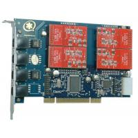 TDM410P 4 Port with 4 FXO Modules Asterisk Card for Voip Manufactures