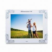 8-inch Digital Photo Frame with 800 x 600 Pixels High-resolution and Gravity Sensor Function Manufactures