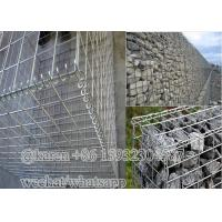 Wire diameter3.0mm 4.0mm Welded Gabion Boxes For Stone Cage/welded Gabion Basket Manufactures