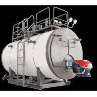 China Greenhouse Oil Fired Steam Boiler , Commercial Oil Boilers Corrugated Low Noise on sale