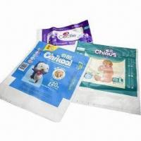 Baby Diaper Packaging, Surface Printing Products/Good Heat-sealing Property/Various Bag Types Manufactures