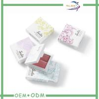 Novelty Blush Cosmetic Gift Box Square Package CMYK 4 color offset printing Manufactures