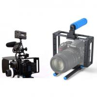 New DSLR camera cage RIGS for Canon Dslr 5D MARK II III 7D with 15mm guide rail Manufactures