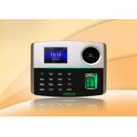 Buy cheap POE Palm and fingerprint time attendance machine with Multi-language from wholesalers