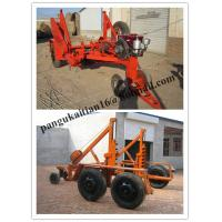 low price Cable Winch,Cable Drum Trailer, new type Cable Drum Carrier Manufactures