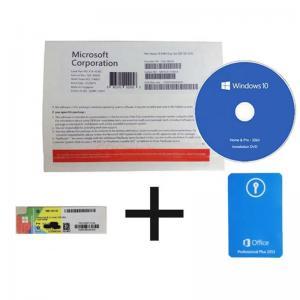 Microsoft Windows 10 Home 64 Bit System Builder Oem Retail Key Russian Language Manufactures
