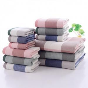 35*75cm/70*140cm colorful cotton wholesale face towels bath towels Manufactures