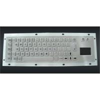 China Metal keyboard with touchpad on sale