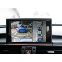 Quality HD Audi A6 Car Rearview Camera System With 360 Degree Bird View, IP67, loop for sale
