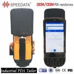 4G LTE Handheld UHF RFID Reader , Smartphone Handheld PDA Long Distance Manufactures