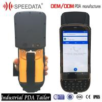 5 Gps Industrial Outdoor Phone Uhf Rfid Handheld Reader For Car Transportation Tracking Manufactures