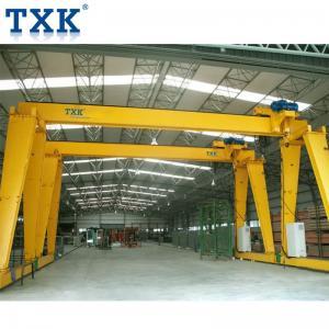 China 10 Ton Motorized Gantry Crane With European Model Electric End Beam on sale