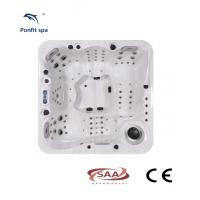 European Standard Portable Hot Tub Acrylic Material Optional Color Jet Hot Tub Manufactures