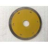 4'' Continuous Rim Saw Blade For Porcelain Tile , 110mm Diamond Cutting Blades Manufactures