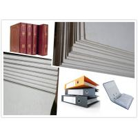 China Strong Stiffness Flat Laminated Hard Paper Grey Board Sheets Straw Board Paper on sale
