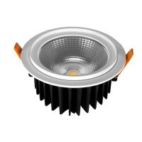 China IP44 High Power COB Led Downlights Cut out 175mm With Tridonic Driver on sale