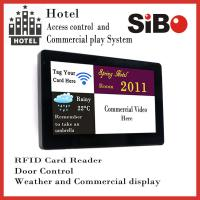 """SIBO 7"""" Wall Mounting Android Industrial Panel PC with LED light bar, POE RJ45 port, NFC reader Manufactures"""