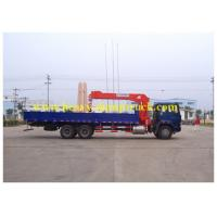 China 6X4 Truck Mounted Crane 12 Tons Euro Ii With Front Or Rear Crane on sale
