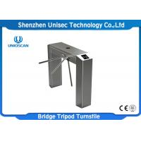 Semi Auto Dual Direction Tripod Turnstile Gate UT550-C Access System 304 Stainless Steel Manufactures