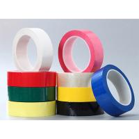 Color Green PET Polyester Mylar Tape Coating With Acrylic Glue insulation tape Manufactures