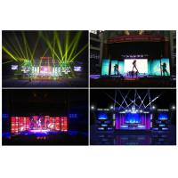Wall Mounted P10 RGB LED Screen With Real Pixel 10000 Dots / ㎡ 320 * 160mm Manufactures