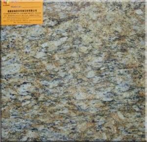 China Sell Brazilian Gold Granite Tiles/Slabs--Giallo Cecilia Dark on sale