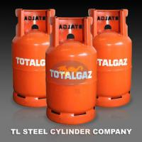 China Empty Cooking Gas Cylinder , 12.5kg Refillable Gaz Storage Tank on sale