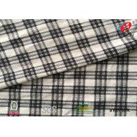 China Cotton Imitation Velvet Plaid Polyester Fabric Transfer Printed Water Resistant on sale