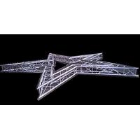 Environmental Five Star Aluminum Lighting Truss , Unique Lightweight Steel Truss Manufactures