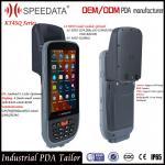 Android 5.1 Smart PDA Portable Rugged Rfid Reader Handheld Short Range 134.2Khz Modules Manufactures