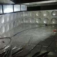 China Large Insulated Hot Water Storage Tank , Custom Stainless Steel Water Storage Tank on sale