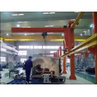 Heavy-Duty Free Standing Jib Crane For With Electric Wire Rope Hoist For Material Handling Manufactures