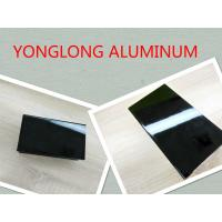 Electrophoretic Black Pearls Aluminum Window Frame Profile Normal Length 6m Manufactures