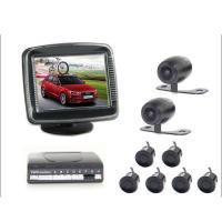 China Electronic Car Reverse Parking Sensor Video Display With Front Rearview Camera on sale