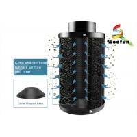 Aluminum Flange Carbon Air Cartridge Filter For Hydroponic Deodorization Manufactures