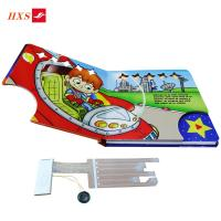 China Custom Factory Integration OEM PET Film Picture Book with Sound Module Funny Music Children Books With Sound Book Effect on sale