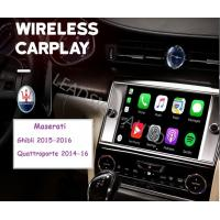 China Build In Wireless Video Interface For Maserati Android Phone USB Charging Port on sale