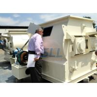 China 18.5kw 380v Dry Mortar Mixer Machine Twin Shaft Paddle Mixer Steel Material on sale