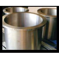 Buy cheap Excavator Oil Impregnated Bushings , Sintered Bronze Flanged Sleeve Bearings from wholesalers