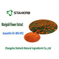 Orange Yellow Marigold Extract Powder Manufactures