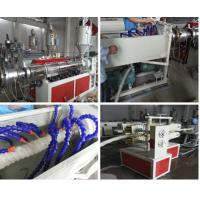 Energy Saving Pipe Production Line / PE Carbon Reinforced Spiral Pipe Machine Manufactures