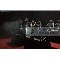8 Seats 7D Cinema System With Smoke Effects And Audio System Manufactures