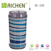 China new desisn double wall plastic cola cup can push lid 12oz RC-339 on sale