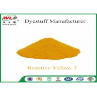C I Reactive Yellow 3 Textile Reactive Dyes Colour Dye For Fabric Manufactures